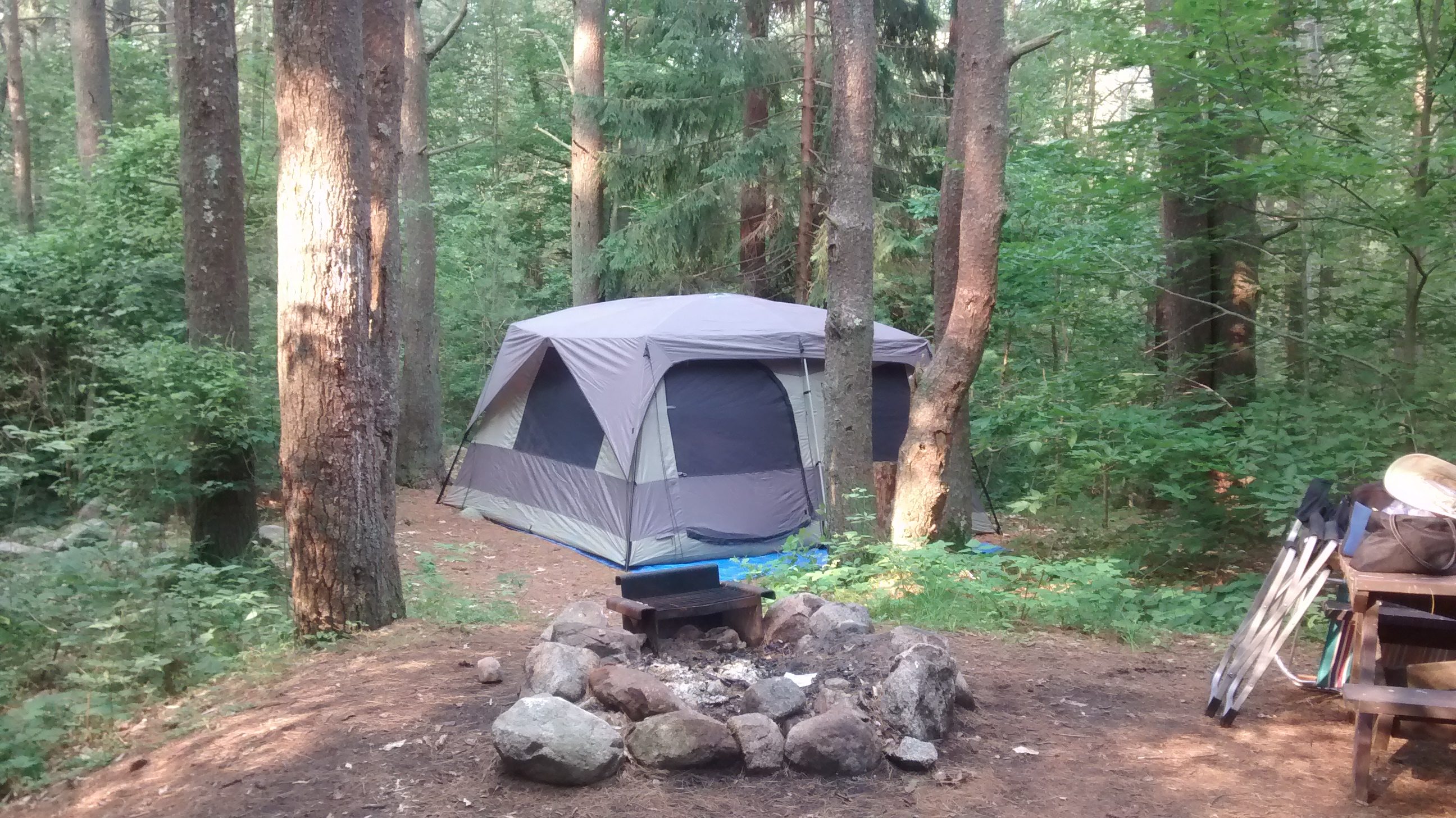 Let the camping begin…. - What Shall I See